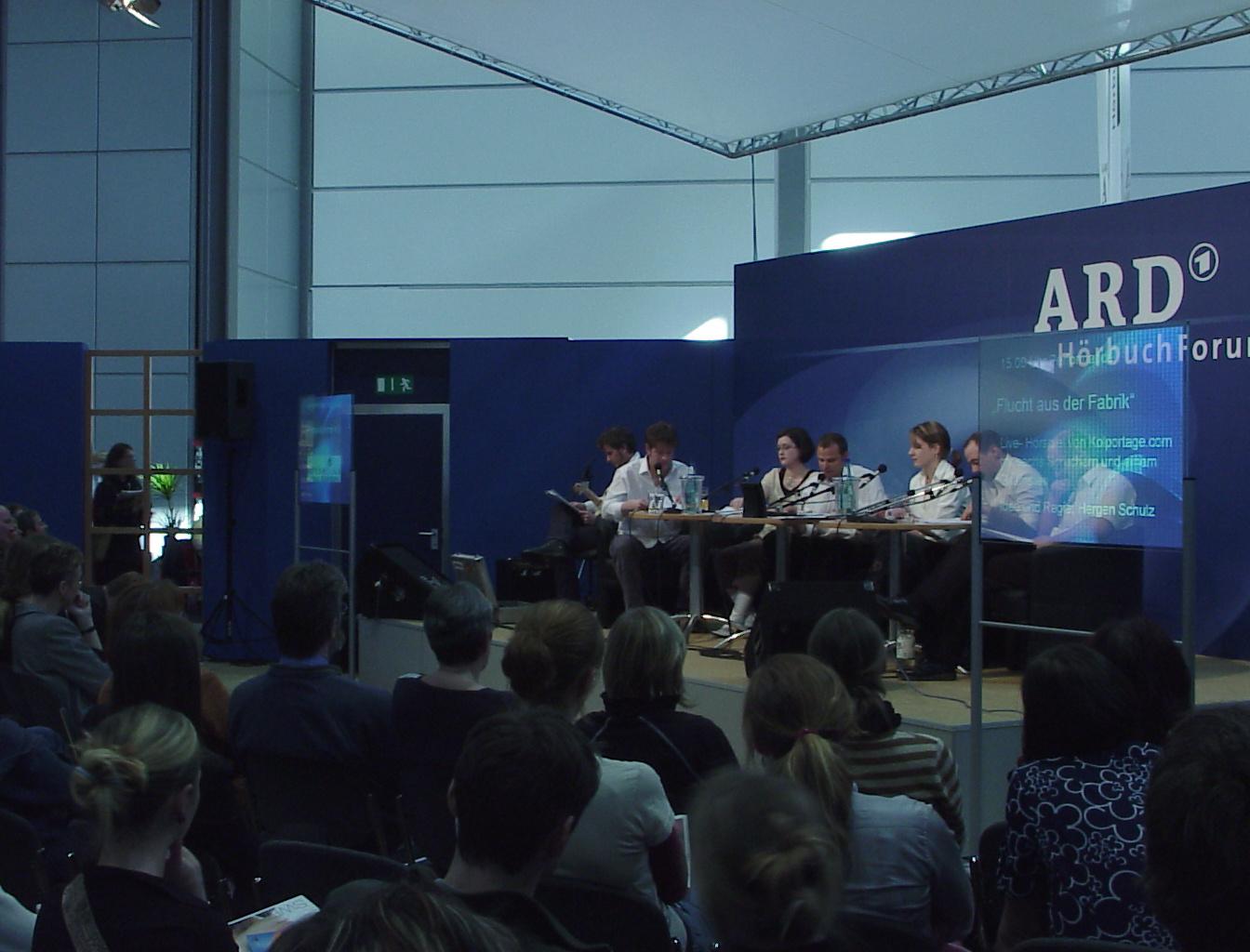 ARD Hörbuchforum Leipzig